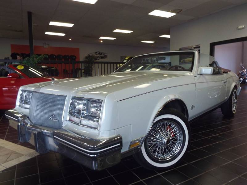 1984 Buick Riviera 2dr Convertible In StCharles IL  StCharles