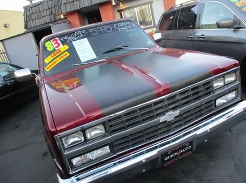1983 GMC C/K 1500 Series for sale in Modesto, CA
