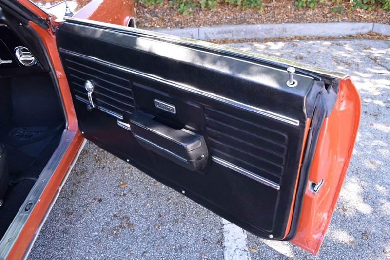 1968 Chevrolet Camaro SS - Orlando FL