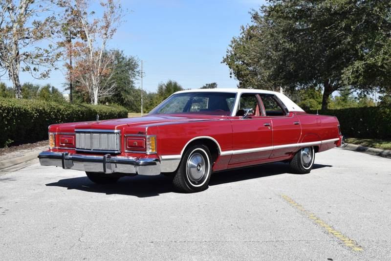 1977 Mercury Grand Marquis In Orlando Fl Orlando Classic Cars