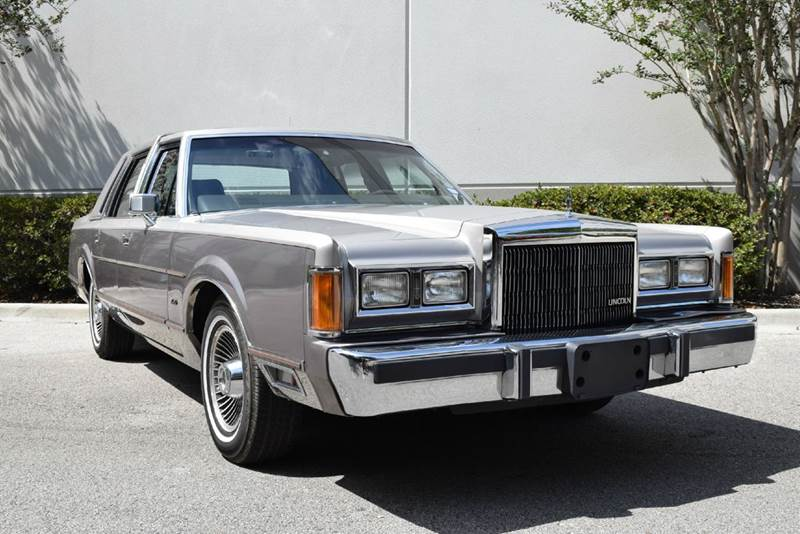 1989 Lincoln Town Car Cartier 4dr Sedan - Orlando FL