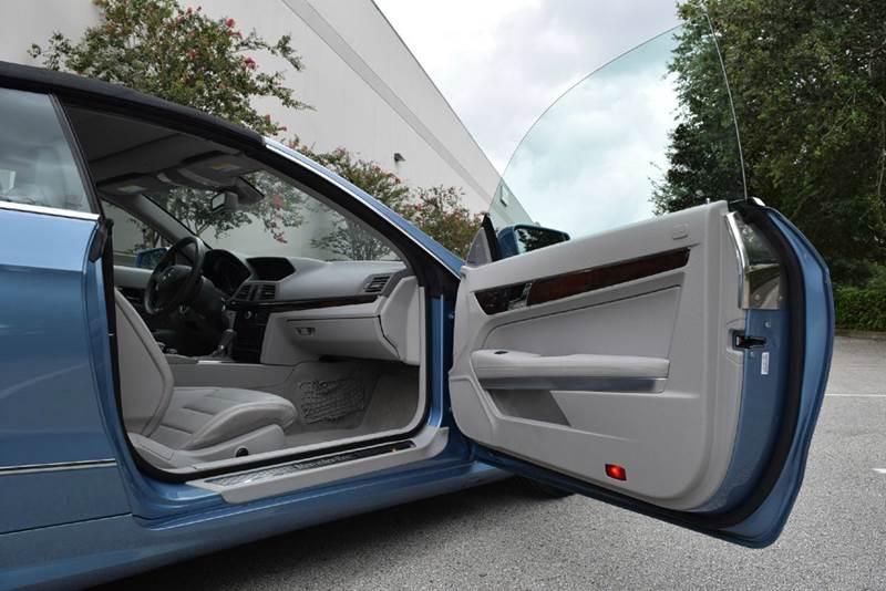 2011 Mercedes-Benz E-Class E 550 2dr Convertible - Orlando FL
