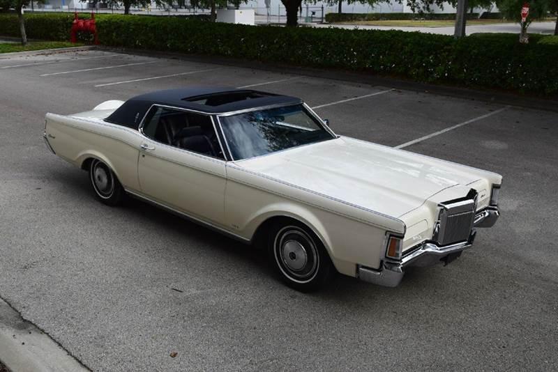 1971 Lincoln Mark III Factory Sunroof - Orlando FL