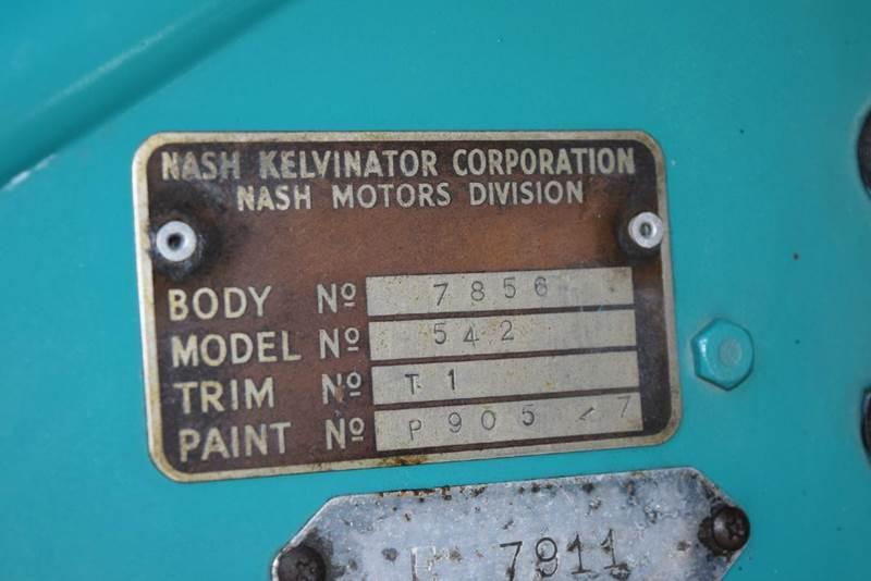 1954 Nash Metropolitan  - Orlando FL