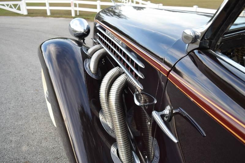 1936 Auburn Convertible Sedan  Supercharged - Orlando FL