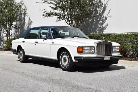 1989 Rolls-Royce Silver Spur for sale in Orlando, FL