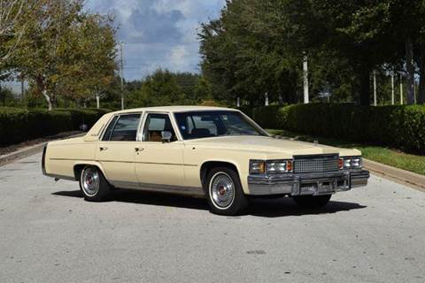 1979 Cadillac Fleetwood Brougham for sale in Orlando, FL