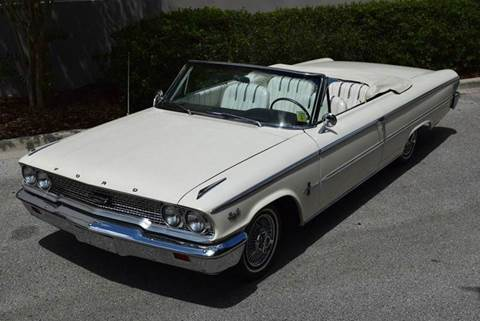 1963 Ford Galaxie 500XL for sale in Orlando, FL