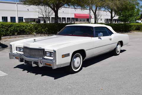 1976 Cadillac Eldorado For Sale In Florida Carsforsale Com