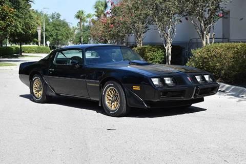 1981 Pontiac Firebird Trans Am for sale in Orlando, FL