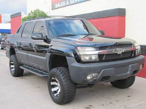2002 Chevrolet Avalanche for sale in Scottsdale, AZ