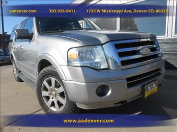 2008 Ford Expedition for sale in Denver, CO
