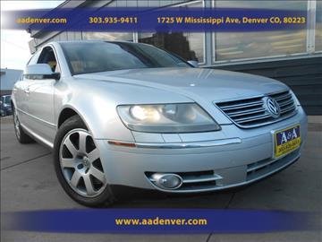 2004 Volkswagen Phaeton for sale in Denver, CO