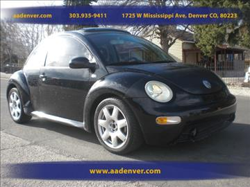 2002 Volkswagen New Beetle for sale in Denver, CO