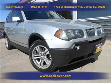2005 BMW X3 for sale in Denver, CO