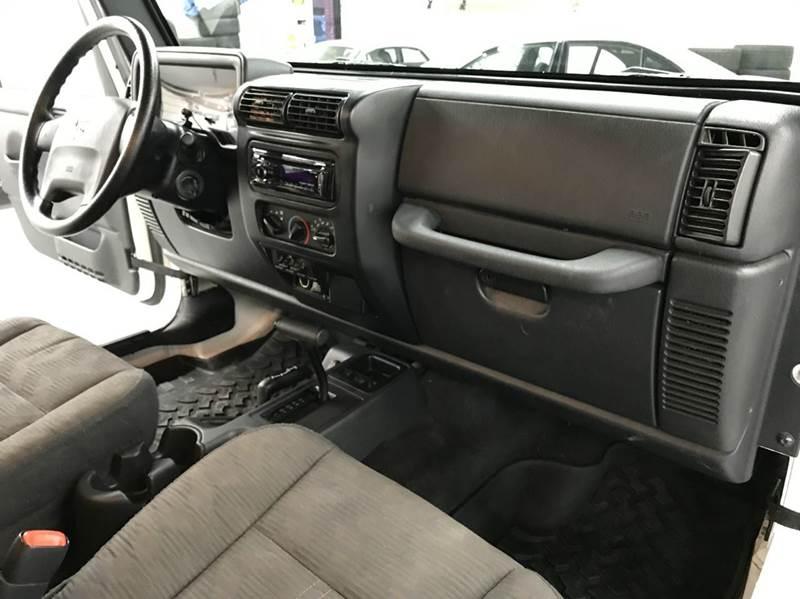 2004 Jeep Wrangler X 2dr 4WD SUV - Gaithersburg MD