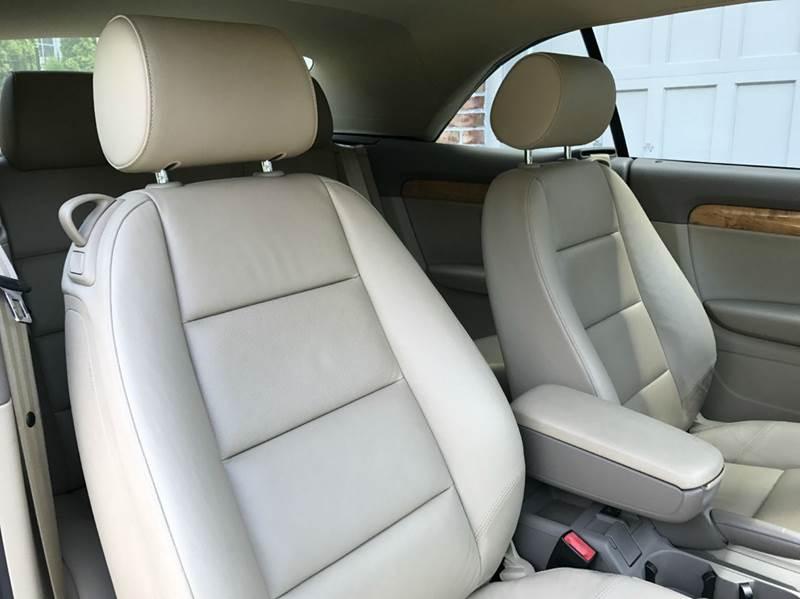 2006 Audi A4 3.0 quattro AWD 2dr Convertible - Gaithersburg MD