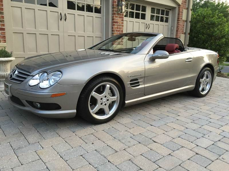2003 mercedes benz sl class sl55 amg 2dr convertible in gaithersburg md avazi auto group llc. Black Bedroom Furniture Sets. Home Design Ideas