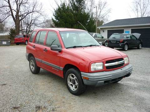 2001 Chevrolet Tracker for sale in Ingalls, IN