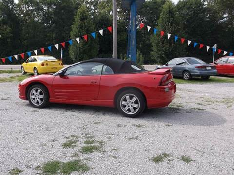 2001 mitsubishi eclipse spyder for sale in ingalls in