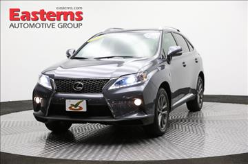 Lexus rx 350 for sale manassas va for Easterns automotive group eastern motors manassas va
