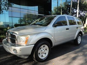 2005 Dodge Durango for sale in Hollywood, FL