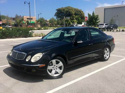 2006 Mercedes-Benz E-Class for sale in Hollywood, FL