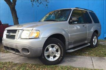2003 Ford Explorer Sport for sale in Hollywood, FL