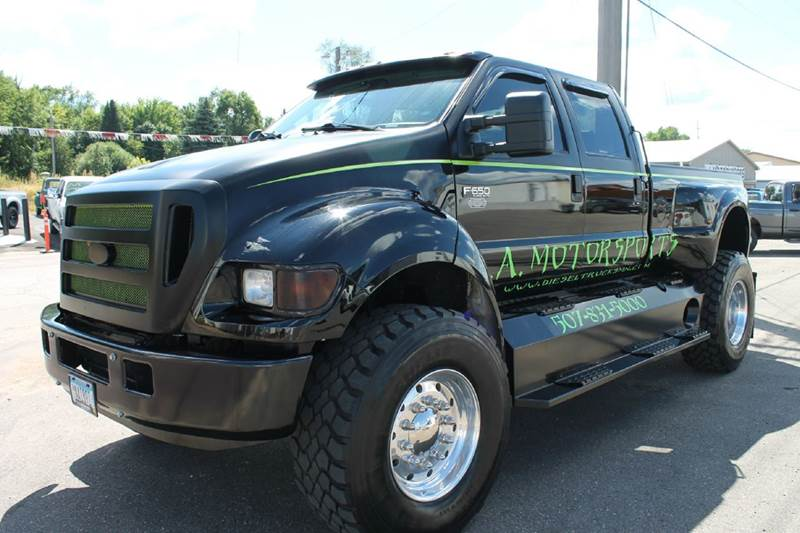 2007 ford f650 super truck in windom mn la motor sports. Black Bedroom Furniture Sets. Home Design Ideas