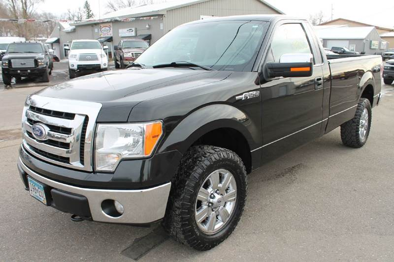 2010 ford f 150 xlt 4x4 2dr regular cab styleside 8 ft lb in windom mn la motor sports. Black Bedroom Furniture Sets. Home Design Ideas