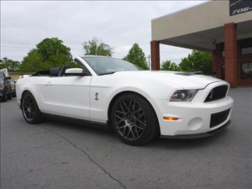 2012 Ford Shelby GT500 for sale in Summerville, GA