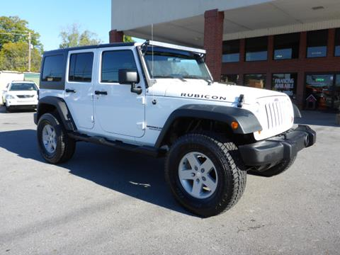 2011 Jeep Wrangler Unlimited for sale in Summerville, GA
