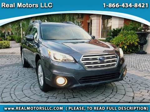 2015 Subaru Outback for sale in Clearwater, FL