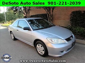 2005 Honda Civic for sale in Olive Branch, MS