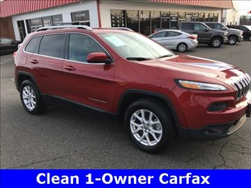 2015 Jeep Cherokee for sale in Lynchburg, VA
