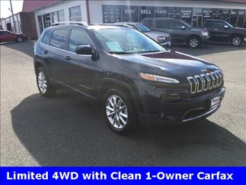 2016 Jeep Cherokee for sale in Lynchburg, VA