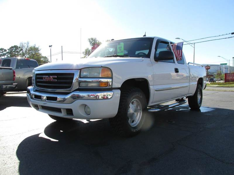 2004 gmc sierra 1500 sle 4dr extended cab 4wd sb in north little rock ar lease to own. Black Bedroom Furniture Sets. Home Design Ideas