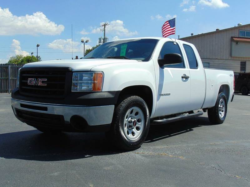 2010 Gmc Sierra 1500 4x4 Work Truck 4dr Extended Cab 6 5 Ft Sb In North Little Rock Ar Lease