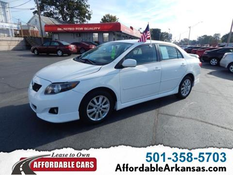 2010 Toyota Corolla for sale in North Little Rock, AR