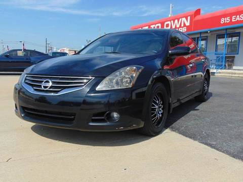 2012 nissan altima for sale arkansas. Black Bedroom Furniture Sets. Home Design Ideas