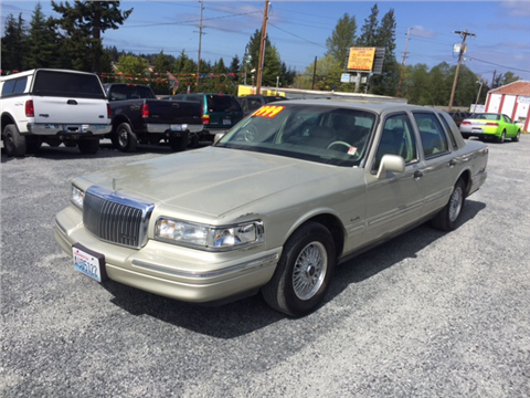 Lincoln town car for sale washington for My town motors auburn wa