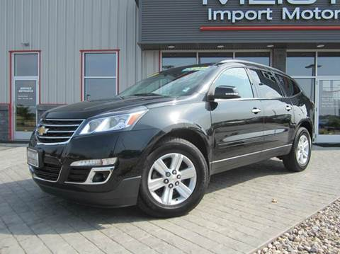2014 Chevrolet Traverse for sale in Greenville, WI
