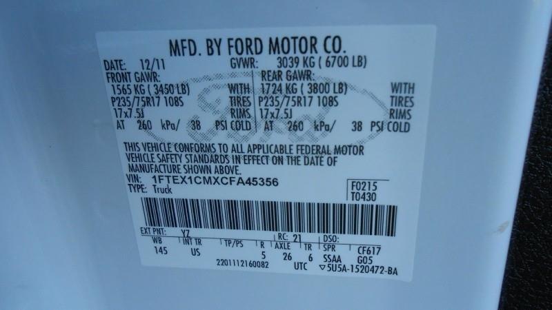 2012 Ford F-150 XL SUPERCAB - San Jose CA