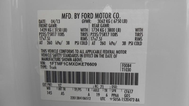 2013 Ford F-150 2WD Reg Cab 126 XL - San Jose CA