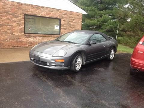 2002 Mitsubishi Eclipse Spyder for sale in Amelia, OH