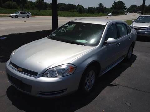 2012 Chevrolet Impala for sale in Greenville SC