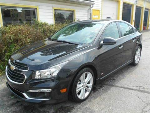2015 Chevrolet Cruze for sale in Toledo, OH