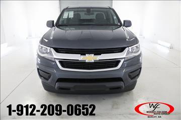 2017 Chevrolet Colorado for sale in Hazlehurst, GA
