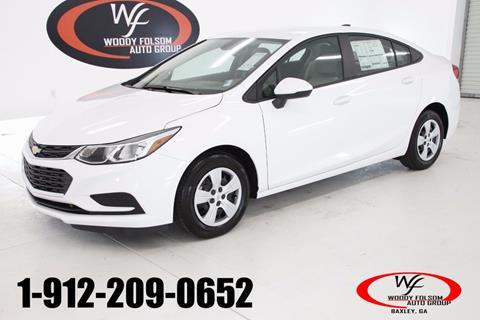 2018 Chevrolet Cruze for sale in Hazlehurst, GA