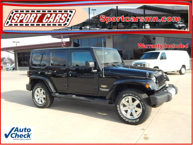 2015 Jeep Wrangler Unlimited 4x4 Sahara 4dr SUV - Norwood MN